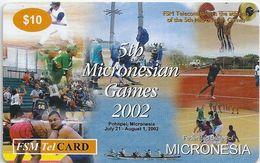 Micronesia - FSMTC - 5th Micronesian Games - FSM-R-035 - 10$ Remote Mem. Used - Micronésie