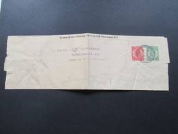 GB 1913 Streifband / Private Ausgabe! The Evening Standart And St. James's Gazette. London Nach Berlin Gesendet! - 1902-1951 (Könige)