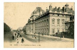CPA 75 Paris Ecole Supérieure De Guerre Animé - Enseignement, Ecoles Et Universités