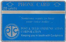 Papua New Guinea - Someone Wants... - L&G - 809D - 1988, 3.000ex, Mint - Papua New Guinea