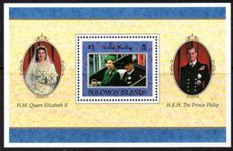 Solomon Islands 1997 Royal Golden Wedding MS, MNH, SG 893 (B) - Solomon Islands (1978-...)