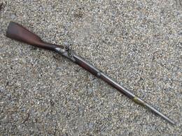BEAU MOUSQUETON DE CAVALERIE A SILEX AN9 - Decorative Weapons