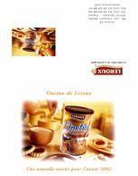 Calendrier 2002 Onctuo De Leroux Une Nouvelle Saveur Pour L'année 2002 - Calendars