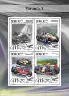 MOZAMBIQUE 2016 ** Formula 1 Formel 1 Formule 1 M/S - OFFICIAL ISSUE - A1649 - Cars