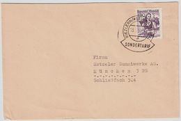 1957, EF, Sondertarif!   , #a274 - 1945-60 Briefe U. Dokumente