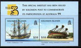 Solomon Islands 1999 Australia '99 Exhibition Ships MS, MNH, SG 923 (B) - Solomon Islands (1978-...)