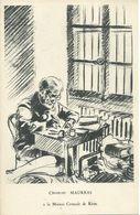 CPA ___ 63 A La Maison Centrale De Riom ---Charles Maurras De 80 Ans Subit Son 1.320e Jour De Prison . - Riom