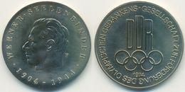 DDR Medaille Olympiade, Werner Seelenbinder, Förderung Olympischen Gedankens 1974 - Other