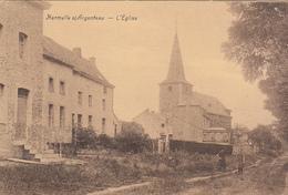 Hermalle S/ Argenteau - L'Eglise (animée, Pompe, Legia, Edit.Vannevel 1957) - Oupeye