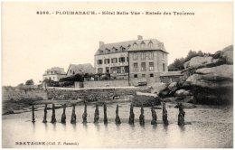 22 PLOUMANAC'H - Hôtel Belle-Vue - Entrée Des Troîeros - Ploumanac'h