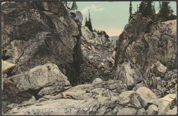 Rock Gorge, Victoria Park, Revelstoke, British Columbia, C.1905 - Trueman's Studio Postcard - Other