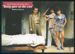 Barcelona. *Teatre Nou Tantarantana. Boig Per Sí De Cas* Impreso Flyer. - Otros