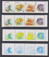 Kosovo 1999 Minerals Strip 4v Printing Process 4 Strips ** Mnh (F6996) - Kosovo