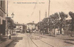 69 Rhône  : Saint Genis Laval  La Place  Réf 4045 - Altri Comuni