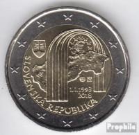 Slowakei 2018 Stgl./unzirkuliert Auflage 1 Mio. Stgl./unzirkuliert 2018 2 Euro 25 Jahre Republik - Slowakei