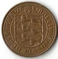 1 Pièce De Monnaie 2 Pences 1971 - Guernsey