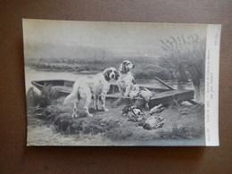CPA - SALON DE 1907 - SOUVENIR DE CHASSE AU MARAIS - PAR JULES GELIBERT - R14329 - Peintures & Tableaux