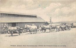Swansea - Arizona, Clara Consolidated Cy - Arrivée Des Transports Devant Les Entrepôts - Verenigde Staten
