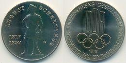 DDR Medaille Olympiade, August Schärttner, Förderung Olympischen Gedankens 1979 - Other