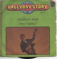45 Tours ( Johnny Hallyday - Madison Twist ) - Vinyl Records