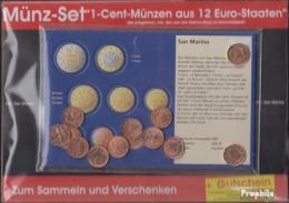 Europa Briefmarken-12 Verschiedene - EURO