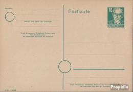 Sowjetische Zone (All.Bes.) P35/01 Amtliche Postkarte Gefälligkeitsgestempelt Gebraucht 1948 Persönlichkeiten - Sowjetische Zone (SBZ)