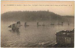 Saint-Brieuc / Sous La Tour / Le Légué / Sortie Des Pêcheurs Dans La Brume ... / Ed. A.B. - Saint-Brieuc