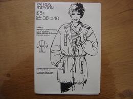 Patron Patroon PARKA Femmes D'aujourd'hui MODE Vintage - Patrons