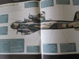 "REVDIV14 Revue ALTAYA ""BOMBARDIERS DE LA SECONDE GUERRE MONDIALE"" N°68 : SHORT STIRLING MK III , 12 Pages , Monographie - Aviation"