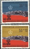 Liechtenstein 389-390 (complete Issue) Unmounted Mint / Never Hinged 1960 World Refugee-Year - Liechtenstein