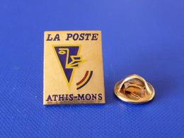 Pin's La Poste PTT - Athis Mons - Essone - France Télécom (QC26) - Mail Services