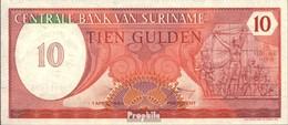 Suriname Pick-no: 126  1982 10 Florins - Surinam