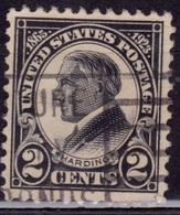 United States, 1923, Harding, 2c, Sc#610, Used - Oblitérés