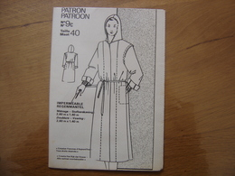 Patron Patroon IMPERMEABLE Femmes D'aujourd'hui MODE Vintage - Patrons