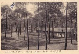 SAINT-HILAIRE DE RIEZ. - SION- Sur-l'OCEAN.  Camp Marin De La S.N.C.F.    CPM Dentelée 10x15 - Saint Hilaire De Riez