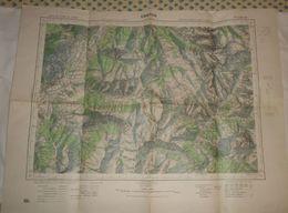 Embrun. 1931. - Topographische Kaarten