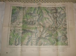 Embrun. 1931. - Cartes Topographiques