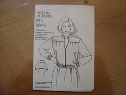Patron Patroon BLOUSON Femmes D'aujourd'hui MODE Vintage - Patrons