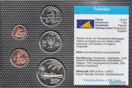 Tokelau-Islands 2012 Stgl./unzirkuliert Kursmünzen Stgl./unzirkuliert 2012 1 Cent Until 20 Cent - New Zealand