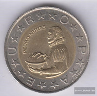 Portugal Km-number. : 645 1991 Stgl./unzirkuliert Bimetall Stgl./unzirkuliert 1991 100 Escudos Pedro Nunes - Portugal