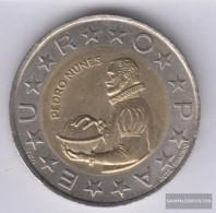 Portugal Km-number. : 645 1998 Stgl./unzirkuliert Bimetall Stgl./unzirkuliert 1998 100 Escudos Pedro Nunes - Portugal