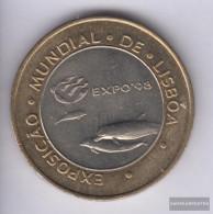 Portugal Km-number. : 694 1997 Stgl./unzirkuliert Bimetall Stgl./unzirkuliert 1997 200 Escudos Delphine - Portugal