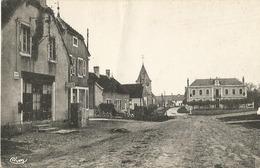 Villebichot (21 - Côte D'Or) La Grande Rue - Agence Postale - Frankreich