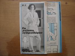 Patron Patroon PYJAMA SYMPATHIQUE Femmes D'aujourd'hui MODE Vintage - Patterns
