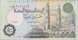 Egypt Pick-number: 62, Signature 22 (22.1.2006) Uncirculated 2006 50 Piastres - Egypt