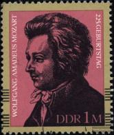 DDR 2572 (complete.issue) Unmounted Mint / Never Hinged 1981 Mozart - [6] République Démocratique