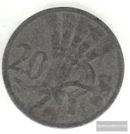 Bohemia And Moravia Jägernr: 621 1940 Very Fine Zinc Very Fine 1940 20 Bright Wappenlöwe - [ 4] 1933-1945 : Third Reich