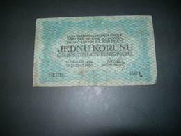 Cecoslovacchia 1 Korunu - Czechoslovakia