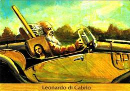 [MD1358] CPM - LEONARDO DI CABRIO - Non Viaggiata - Humor