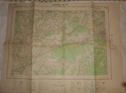 Lacaune. 1963 - Topographical Maps